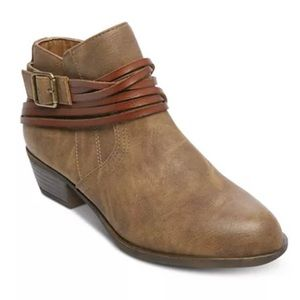 Madden Girl Barty Ankle Booties size 7